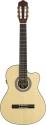 Stagg C947CBB S-N 4/4 Elektro-Akustische Klassik Gitarre mit A3.2 B-Band EQ 4-Band