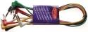 Stagg PC-0,6/PLSPLSH 6 x 1/4, Manneliche stereo patchkabels - klinke/ L formig klinke