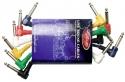 Stagg PC-0,15/PLPLH 6 x 1/4, Mono Patchkabels - Klinke/ Winkelklinke