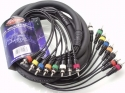 Stagg ML-03/8CM8CMH Multicorekabel - 8 x Cinch M / 8 x Cinch M