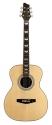 Stagg NA74MJ Akustische Mini-Jumbo Cutaway Gitarre mit massiver A-Klasse Fichtendecke