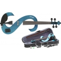 Stagg 25016279 EVN 4/4 TB Electric Violin, HDPhone inkl. Soft Hülle