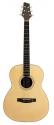 Stagg NA72F Akustische Folkgitarre mit massiver A-Klasse Fichtendecke