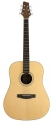 Stagg NA72 Akustische Dreadnought Gitarre mit massiver A-Klasse Fichtendecke