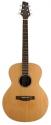 Stagg NA60MJ Akustische mini Jumbo Gitarre mit massiver Fichtendecke