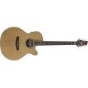 Stagg NA60MJCBB Elektro-Akustische mini Jumbo Gitarre mit massiver Zederndecke