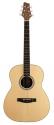 Stagg NA30F Akustische Folkgitarre mit massiver Fichtendecke