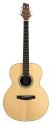 Stagg NA30MJ Akustische mini Jumbo Gitarre mit massiver Fichtendecke