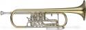 Stagg 77-TR Drehventil Trompete in Bb-Stimmung mit Koffer