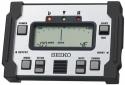 Seiko SAT-800 Chromatisches Stimmgerät Schockabsorbierendes Gehäuse silber/schwarz