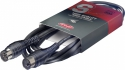 Stagg MDC-1H MIDI kabel + DIN M/DIN M - PVC in formen gebaut