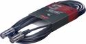 Stagg MDC-2DLH MIDI kabel + DIN M/DIN M  metal