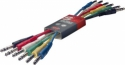 Stagg PC-0,6/PSPSH 6 x 1/4, Stereo Patchkabel, Klinke/ Klinke