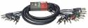 Stagg ML-03/16PM8PMSH Pro multikern kabel - 16 x 1/4, Monoklinke/ 8 x 1/4, Stereoklinke