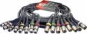 Stagg ML-05/8XF8XMH Multikern kabel - 8 x XLR F / 8 x XLR M