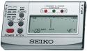Seiko SAT-501 Chromatisches Stimmgerät, silber