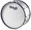 Stagg MBD-2612 12 Zoll x 26 Zoll Marching Bassdrum mit Riemen u. Schlegel