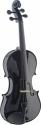 Stagg Geigenset 4/4, vollmassive Violingarnitur, schwarz, im Formkoffer