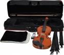 Gewa Set Ideale 4/4, vollmassive Violingarnitur mit angeflammten Boden, GEWA