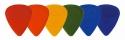 Schaller Plektrum Nylon rot