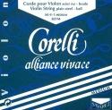 Corelli Alliance 800MB Saitensatz 4/4 Geige/Violine E-Saite Stahl mittel