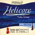 D`Addario Helicore Saitensatz 4/4 Geige/Violine/E-Geige E-Saite Carbonstahl verzinnt mittel