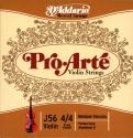 D'Addario J56-4/4M Pro Arte Violinen Saitensatz Perlon/Aluminium 4/4 Medium
