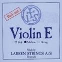 Larsen Saitensatz 4/4 Geige/Violine E-Saite Stahl blank mittel