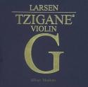 Larsen Tzigane Saitensatz 4/4 Geige/Violine E-Saite Stahl blank Schlinge dick