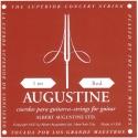 Augustine Gitarrensaite E1 für Klassik-Gitarre red