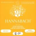 Hannabach Saiten schwarz für Klassik Gitarre Nylon versilbert umsponnen