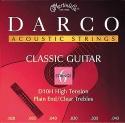 Darco by Martin Gitarrensaiten für Klassik-Gitarre Nylon High Tension