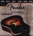 Fender Gitarrensaite D4 für Akustik-Gitarre Bronze