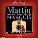 Martin Gitarrensaiten für Akustik-Gitarre Light
