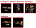 Saxmute Dämpfersystem für Tenor-Saxophone
