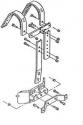 Stagg MK1870 Marching Tragegestell für Trio u. Quad