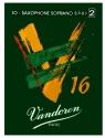 Vandoren Reeds Sopran-Saxophon Stärke 2 im 10-er Pack
