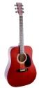 Stagg SW203TR Akustische Dreadnought Gitarre