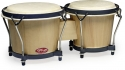 Stagg BW-70-N 6, + 7, Traditionelles Bongo Set mit Holzkessel
