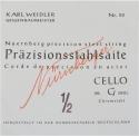 N�rnberger Pr�zision G-Saite f�r 1/2 Cello