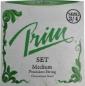 Prim Steel Strings Saitensatz, mit Kugel, medium, f�r 3/4 Cello