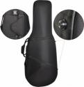 Steinbach 4/4 Celloetui Polyfoam in schwarz mit Rucksackgarnitur