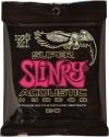 Ernie Ball Gitarrensaiten für Westerngitarre Slinky Acoustic Super 011 - 052