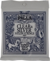 Ernie Ball Gitarrensaiten für Klassikgitarre Ernesto Palla Normal Tension Clear Silver