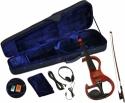 Steinbach E-Geige II in rot 4/4 Set im Koffer