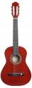GEWApure 1/2 Konzertgitarre Almeria in transparent-rot getönt mit Fichtendecke