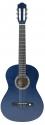 GEWApure 1/2 Konzertgitarre Alermia in transparent-blau getönt mit Fichtendecke
