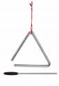 CLUB SALSA Triangel mit Schlegel 4 Zoll/10,2 cm