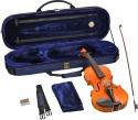 Steinbach 4/4 Geige im SET Ebenholzgarnitur wunderschön geflammt