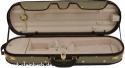 Steinbach 4/4 Geigenkoffer mit abgerundeten Ecken beige Zierborde